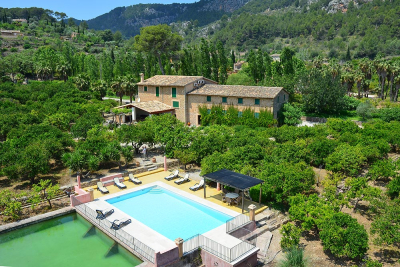 Mallorcan finca with pool in privilaged location in Sóller - Reg. ETV2730