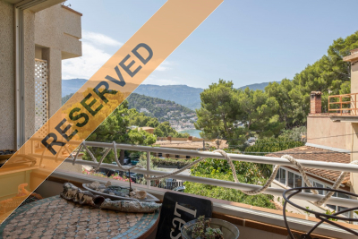 Charming apartment with terrace, parking and views to Port de Sóller