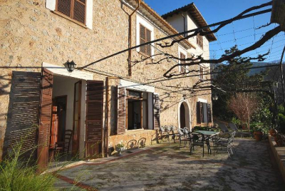 Sunny and quiet country house in Biniaraix - Reg. ET/1070