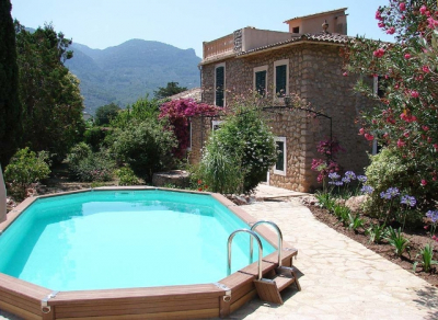 Country house with pool between Sóller and Fornalutx