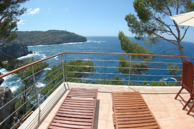 Apartment with breathtaking seaviews in Port de Sóller - Reg. 12680/2016
