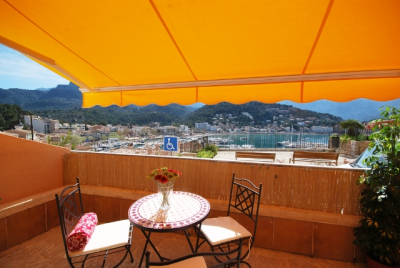 Chic ground floor apartment with terrace in Port de Sóller 20019385339