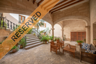 Stylish apartment in moorish town house in Fornalutx for longterm rent