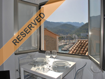 Sylish apartment in the heart of the fishing village in Port de Sóller