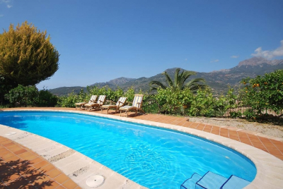 Cute country cottage with shared pool in Sóller to rent ET/339