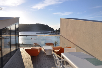 Modern semi-attached house with fantastic views in quiet location in Port de Sóller - Reg. 17621
