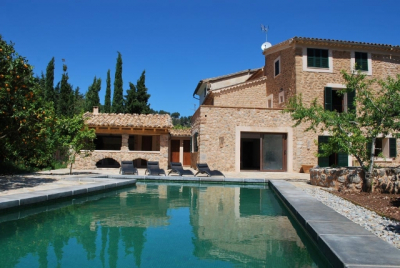 Country house with pool between  Sóller  and Port de Sóller