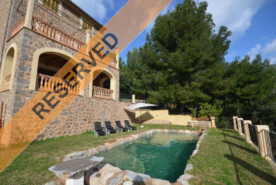 Rental property with shared pool in Port de Sóller - Reg. ETV/5111