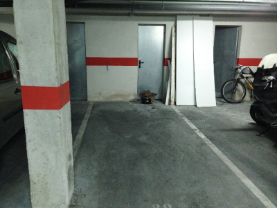 Parking with storage room close to the centre of Sóller