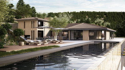 Spacious and modern villa to be finished  in Bunyola