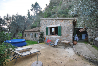 Country cottage with two bedrooms in the hills of Sóller