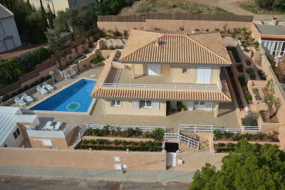 Newly built villa with garage and pool in quiet location in Port de Sóller - Reg. L12E6176