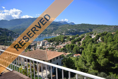 Beautiful apartment with two terraces and views to the bay of Port de Sóller