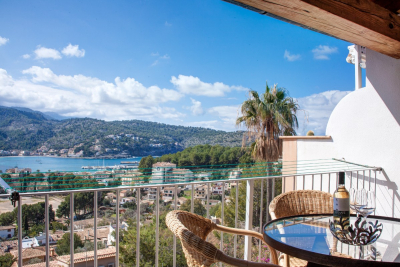 Beautiful two bedroom apartment with great open views in Port de Sóller - Reg. ETVPL12747