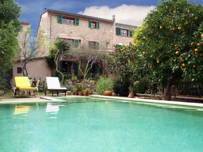 Traditional townhouse with pool in the centre of Sóller - Reg. ETV/5402