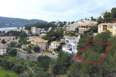 Building plot to build a villa in Port de Sóller