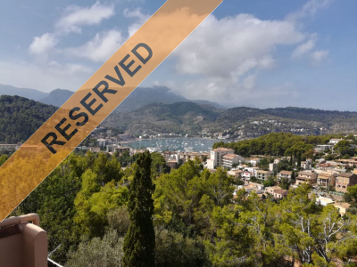 Southfacing Apartment with two terraces and fantastic views to Port de Sóller