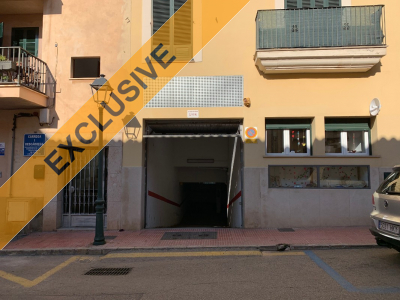 Underground parking space in Sóller for longterm rent