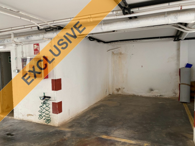 Parking space in underground garage in Port de Sóller for longterm rent