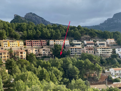 Plot with great views in Port de Sóller
